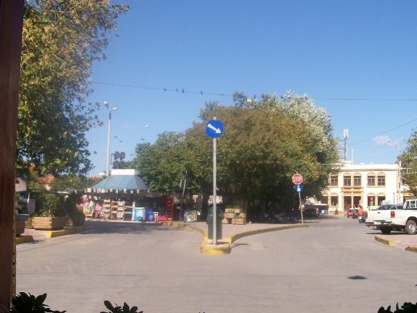 The Main Square in Chios