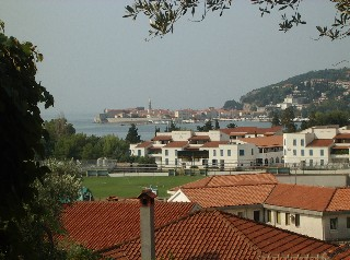 Budva Old Town from a distance