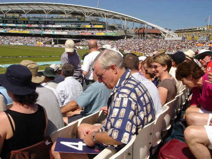 Terry at the Oval 2005