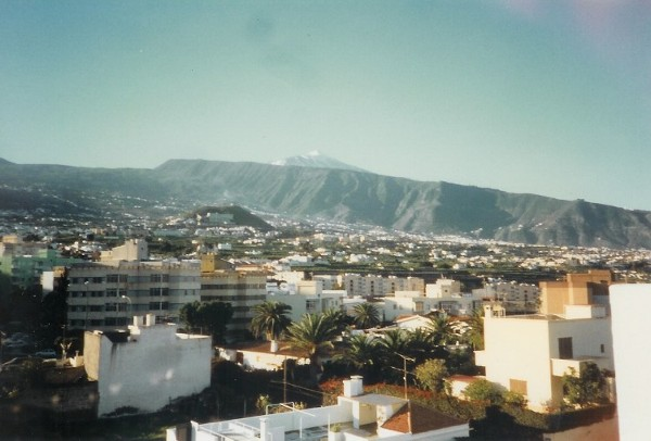 Mount Teide from the Hotel 96/97