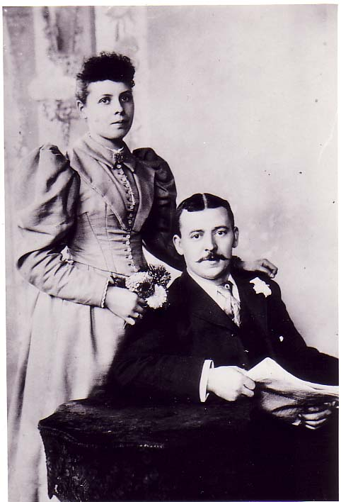 Sarah Ann Taylor & Henry Ring James